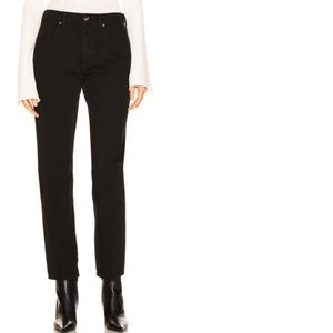 Goldsign | Benefit In Pressed Painted Black Jean